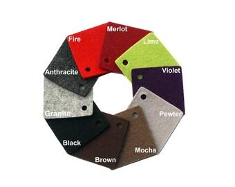 2mm Thick Virgin Merino Wool Designer Felt