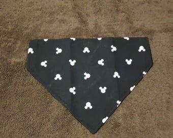 Dog Bandanna Mickey Mouse Inspired-Over the Collar Bandanna