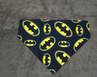 Dog Bandanna Batman Inspired-Over the Collar Bandanna
