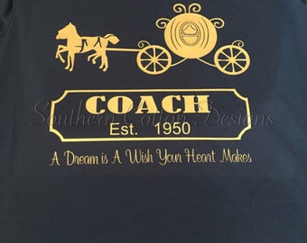 Cinderella Coach Shirt