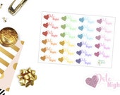 B58 Date Night Stickers, perfect for any Planner