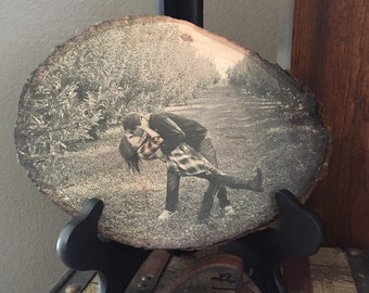 Photo on Wood | Picture on Wood | Wood Photo | Wood Picture | Engagement Gift | Wedding Gift | Valentines Day Gift