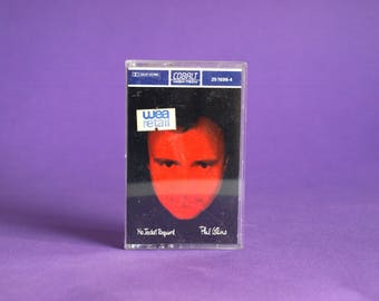 Phil Collins No Jacket Required Cassette Tape - 1985 WEA Cobalt High Tech Dolby HX Pro - Sussudio