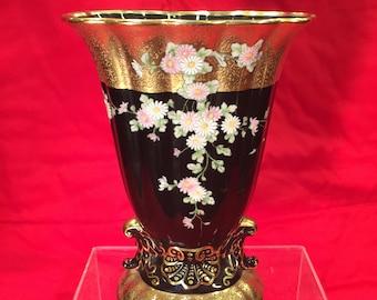 Early Noritake Luster Ware Vase