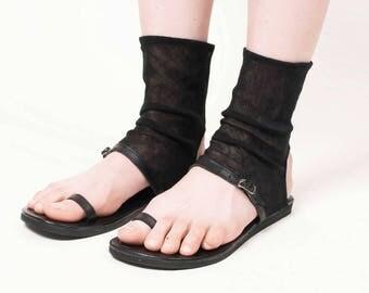 Sandal tulle