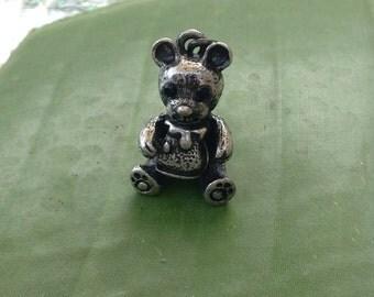 Happy Bear Pot of Honey Pendant