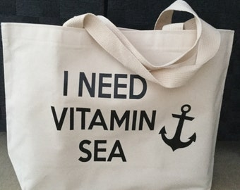Jumbo beach bag | Etsy