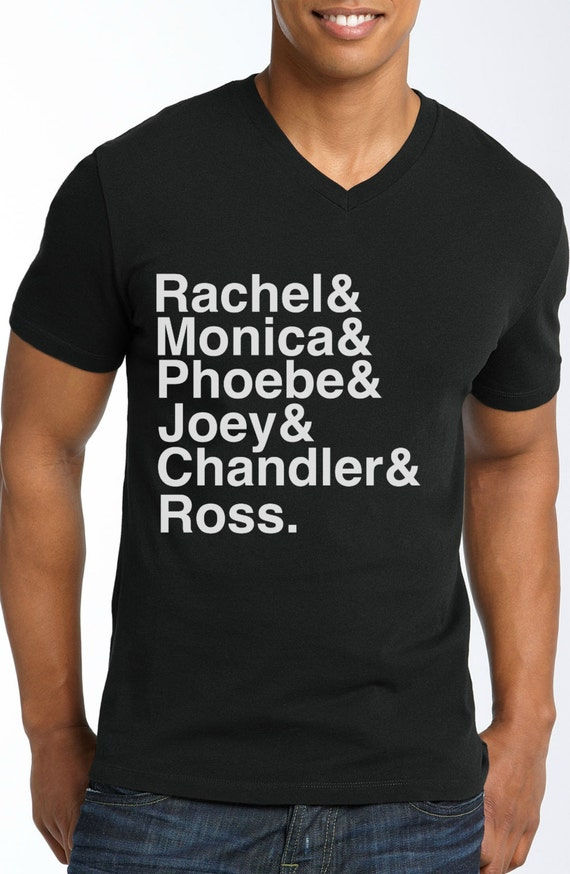 Friends - Character Name T-Shirt