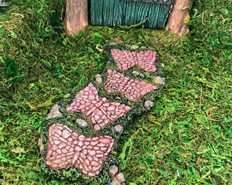 Miniature Butterfly Stone Path