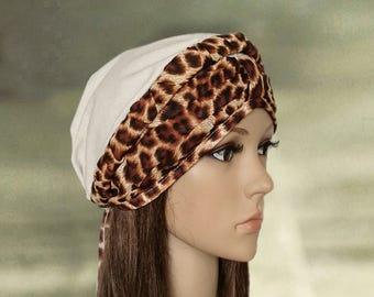 Womens summer turban, Summer bandana lady, Linen summer hat, Womens sun hat, Ladies turban hat, Light weight sun hat, Trendy summer hat