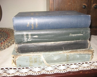 Early Hymnal Books and Old Book Of Poems