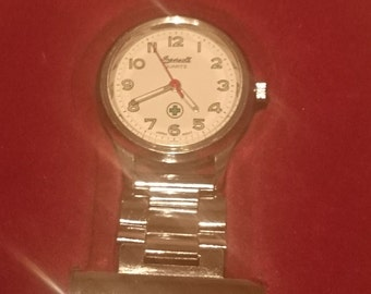 Vintage Ingersoll nurses/fob watch  in fitted case                                           .