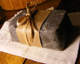 French Green Clay Charcoal soap
