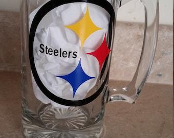 Pittsburg Steelers Beer Mug