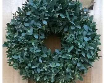 Eucalyptus Door Wreath - Spring Wreath, Door Wreath, Fresh Spring Eucalyptus