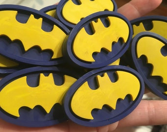 Boy Stocking Stuffer // Christmas Crayons // Batman Crayons // Superhero Birthday // Birthday Party Favor // Xmas // Party Favor Bags