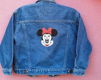 Vintage Boys Girls Denim Jacket