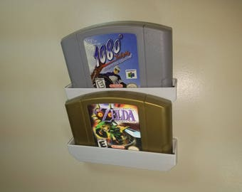 Nintendo 64 Cartridge, Modular, Wall Mount, Display, Unlimited