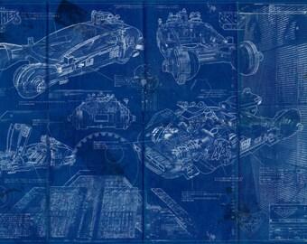 Bladerunner / Spinner Blueprint