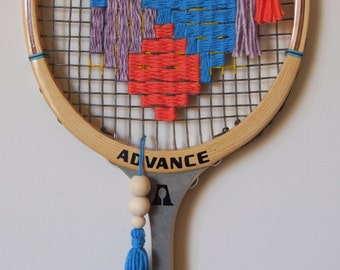 Woven Vintage Racquet
