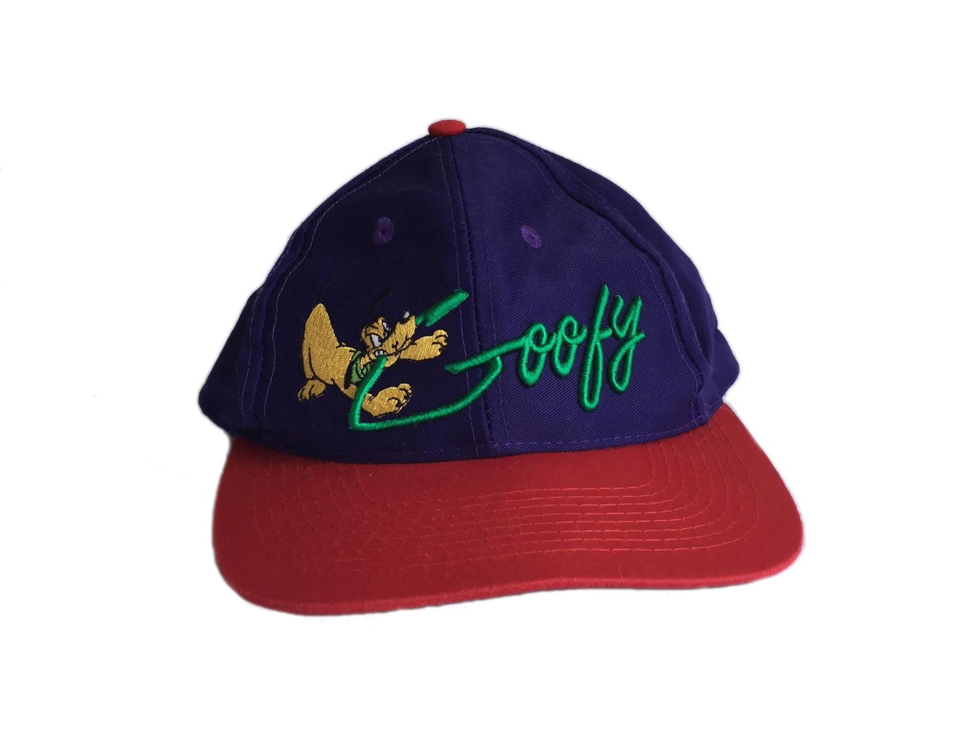 ac6be80e279 Vintage Goofy Pluto Disney Dogs Purple Hat FREE SHIPPING!
