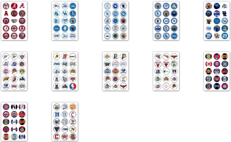 525 One Inch Sports DIGITAL Bottle Cap Images Basketball
