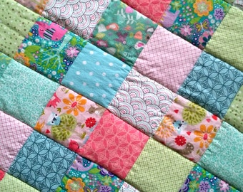 Fruity Salad - Cot Bed Quilt