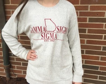 Sorority State Bar Design Comfy Terry
