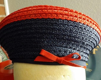 Evelyn Varon Exclusive Vintage Red, White & Blue Hat