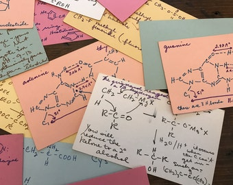 Vintage Formula Index Cards, Pharmacy Study, Halloween Projects, Chemistry, Pharmacy, apothecary (B579)