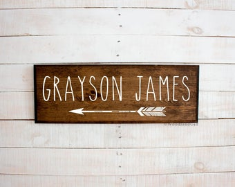 Personalized Arrow Name Sign   Personalized Arrow Room Decor   Personalized  Arrow   Personalized Baby Shower