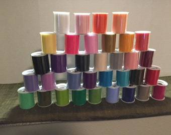 "1 TULLE Roll 3"" x 25 Yards Lots Of Colors To Choose From"