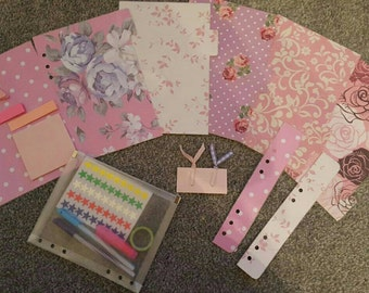 Filofax A5 compatible dividers for planner organiser and accessories