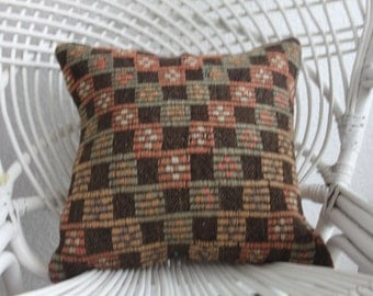 embroidery couch pillow sets woven kilim cushion floor cushion cover kilim pillow 16 x 16 kilim pillow woven pillows boho furnitur 1756