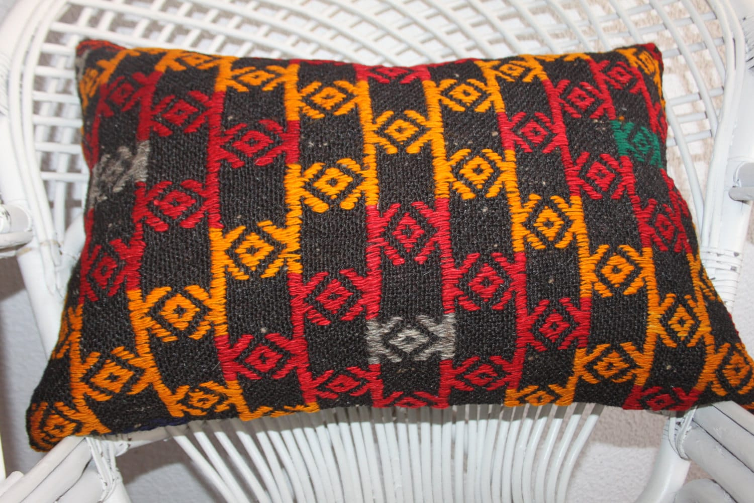 Red And Yellow Decorative Pillows : decorative pillows for couch red and yellow cushion pillow
