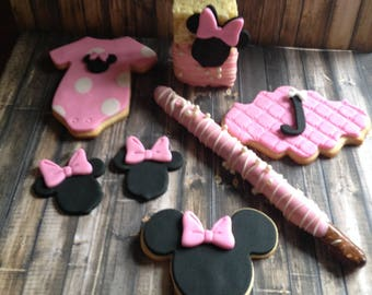 Minne Mouse Birthday Sweets Set