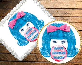 Hairspray Edible Cake Topper