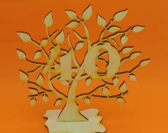 Present for the 40th Birthday, 40th wedding day, life tree in 1977