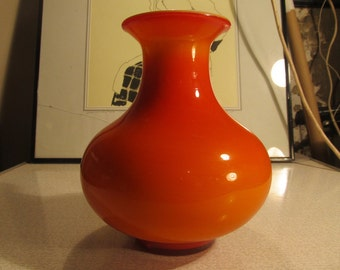 Scandinavian glass vase