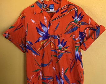 Ocean Pacific vintage 90s Hawaiian shirt Large