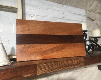 Wood cutting board // butcher block