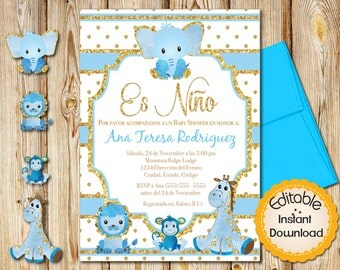 Spanish Baby Shower Etsy