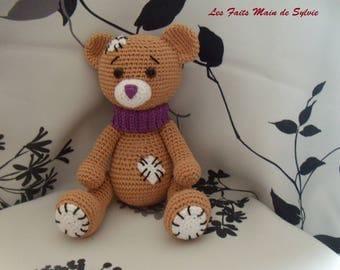 Crochet bear Nono