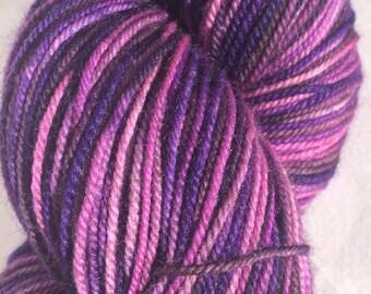 Purplicious!: Merino/Yak/Nylon Sock Yarn