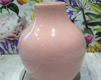 Vintage Blush Pink Beauceware Vase 7968