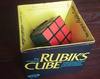 1980s Rubik's Cube in Original Package