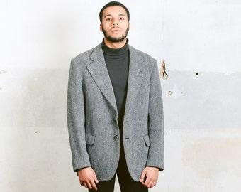 Harris tweed blazer | Etsy