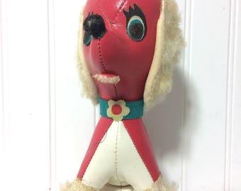 Vintage Leather Poodle Carnival Prize