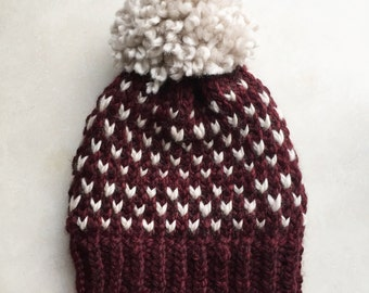 READY TO SHIP: Wilder beanie, handmade