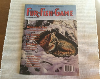 Fur-Fish-Game Magazine December 1990